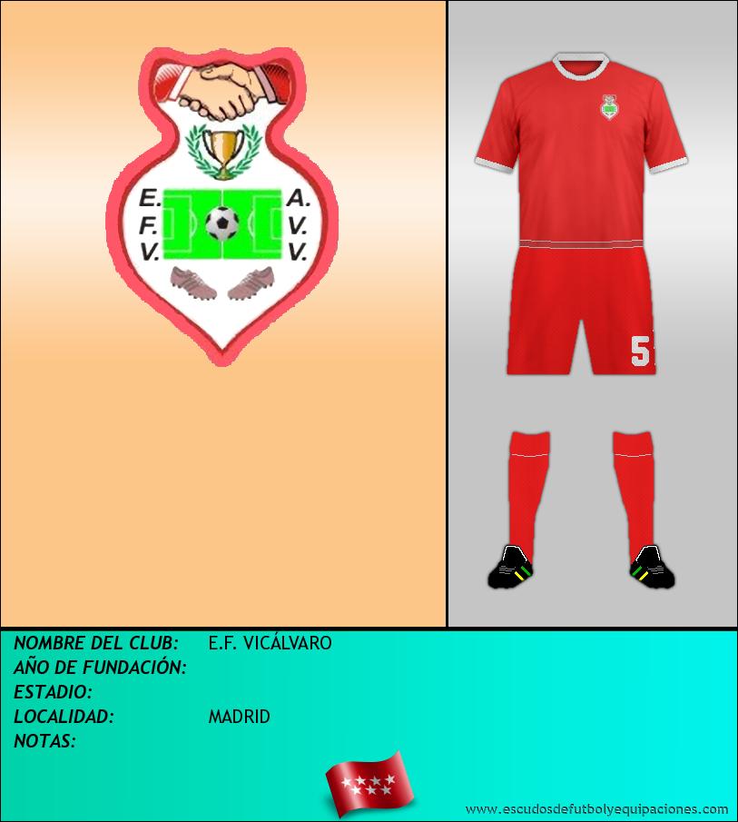 Escudo de E.F. VICÁLVARO