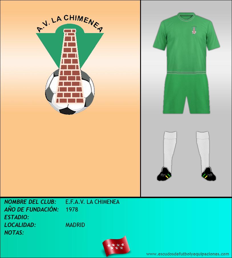 Escudo de E.F.A.V. LA CHIMENEA