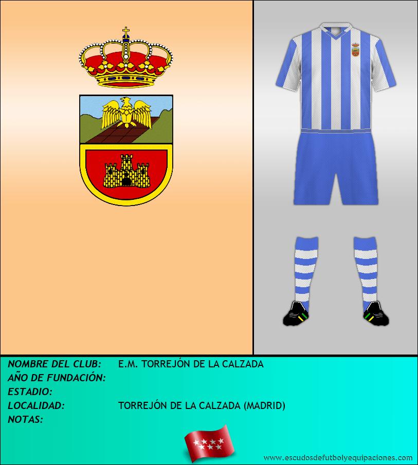 Escudo de E.M. TORREJÓN DE LA CALZADA