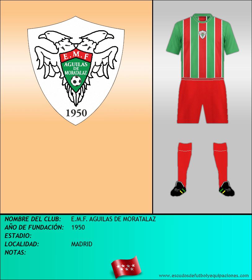 Escudo de E.M.F. AGUILAS DE MORATALAZ
