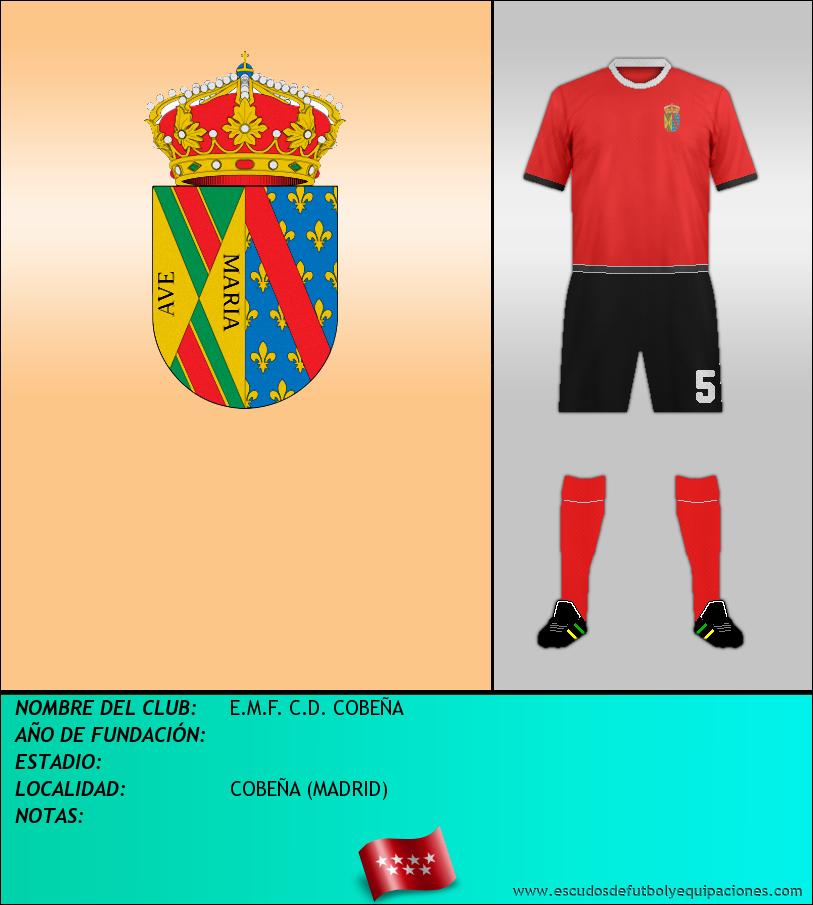 Escudo de E.M.F. C.D. COBEÑA