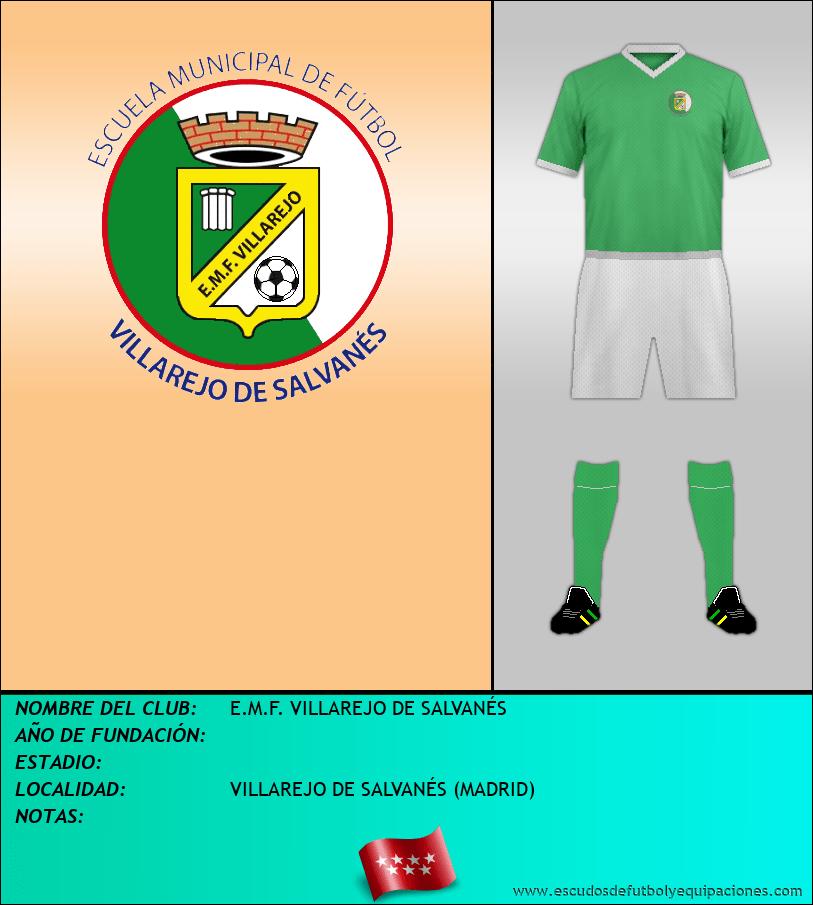 Escudo de E.M.F. VILLAREJO DE SALVANÉS
