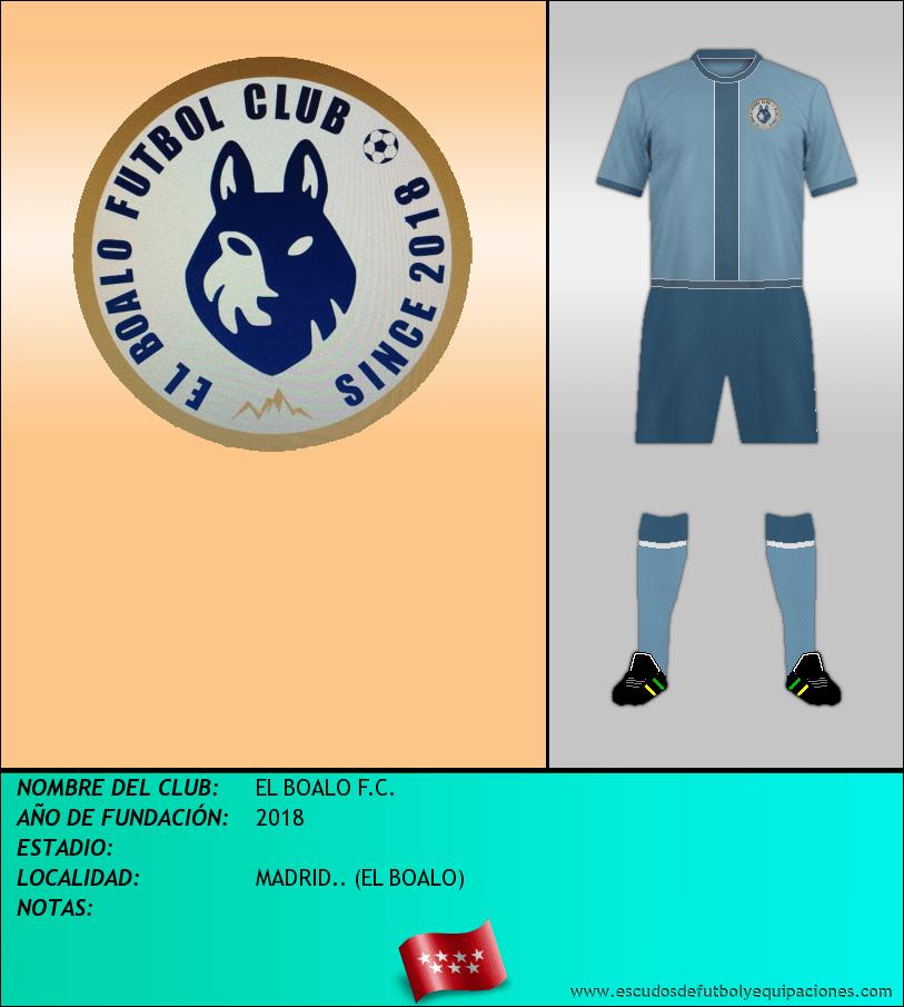 Escudo de EL BOALO F.C.