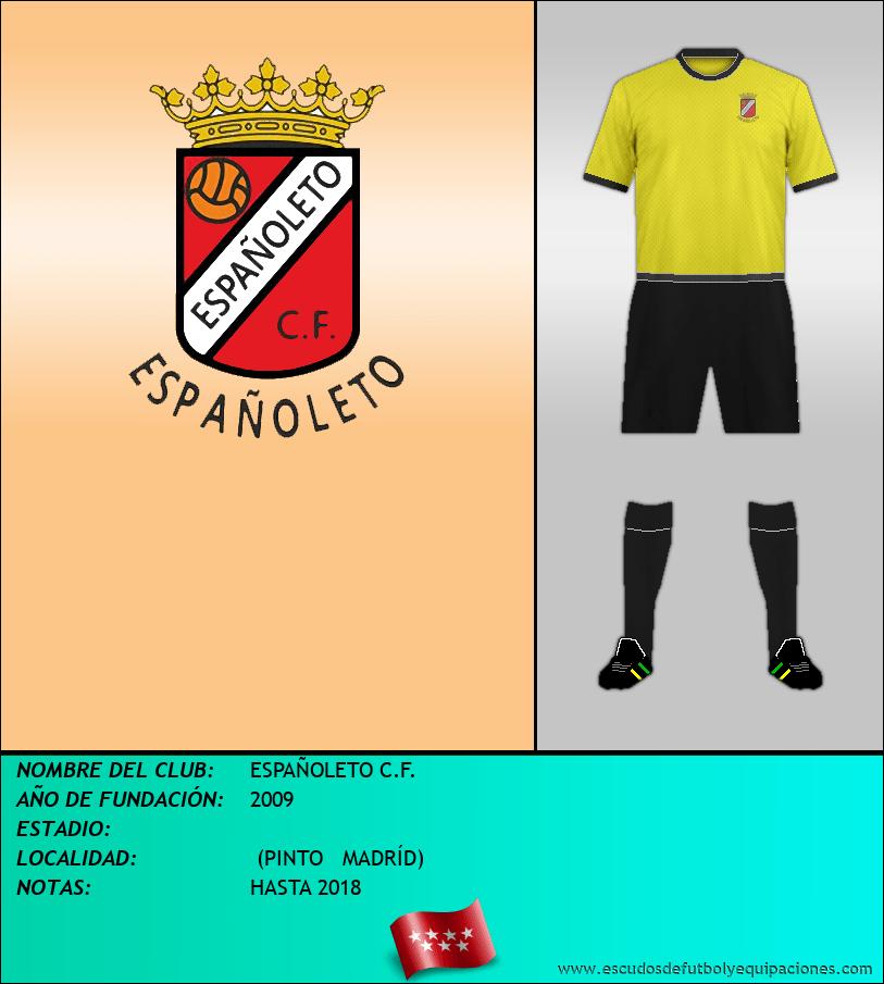 Escudo de ESPAÑOLETO C.F.
