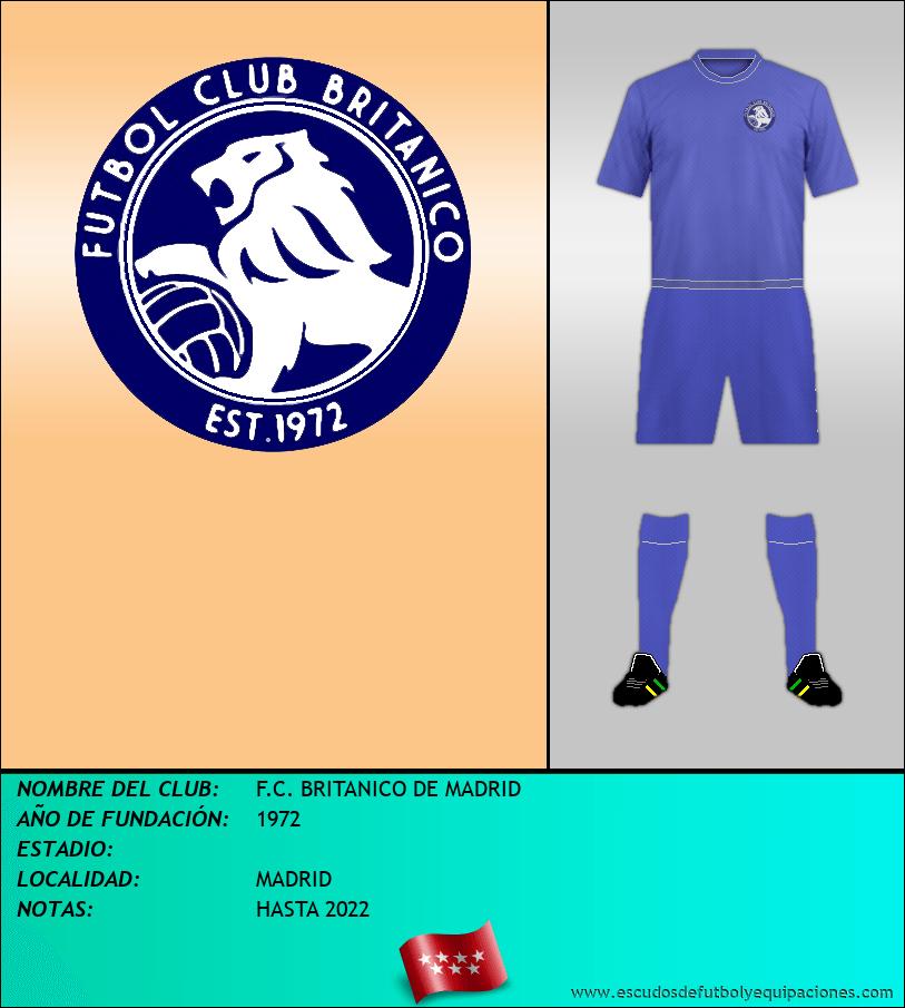 Escudo de F.C. BRITANICO DE MADRID