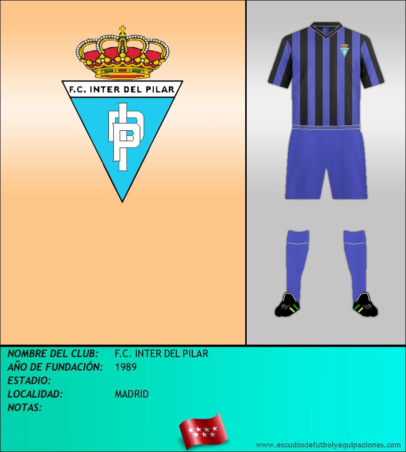 Escudo de F.C. INTER DEL PILAR