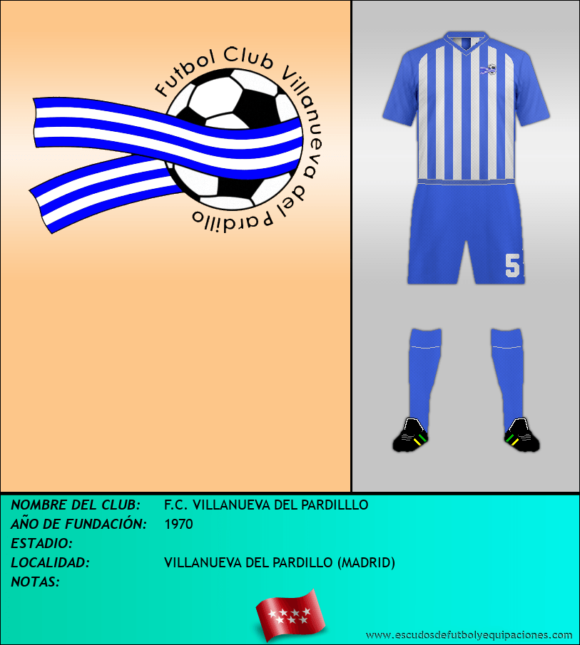 Escudo de F.C. VILLANUEVA DEL PARDILLLO