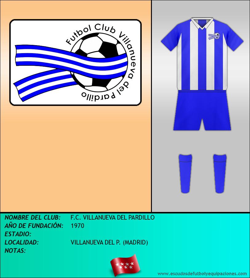Escudo de F.C. VILLANUEVA DEL PARDILLO
