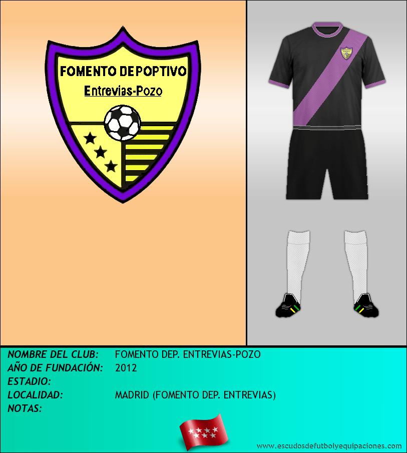Escudo de FOMENTO DEP. ENTREVIAS-POZO