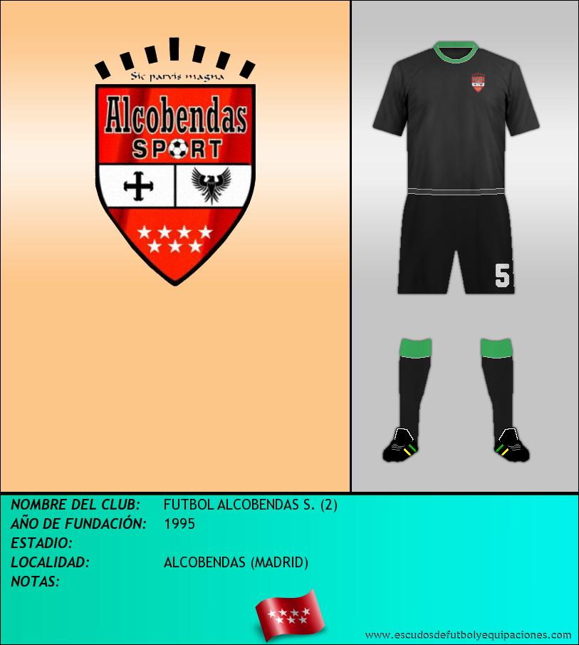 Escudo de FUTBOL ALCOBENDAS S. (2)