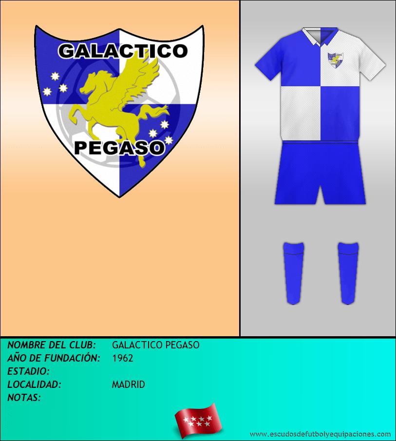 Escudo de GALACTICO PEGASO