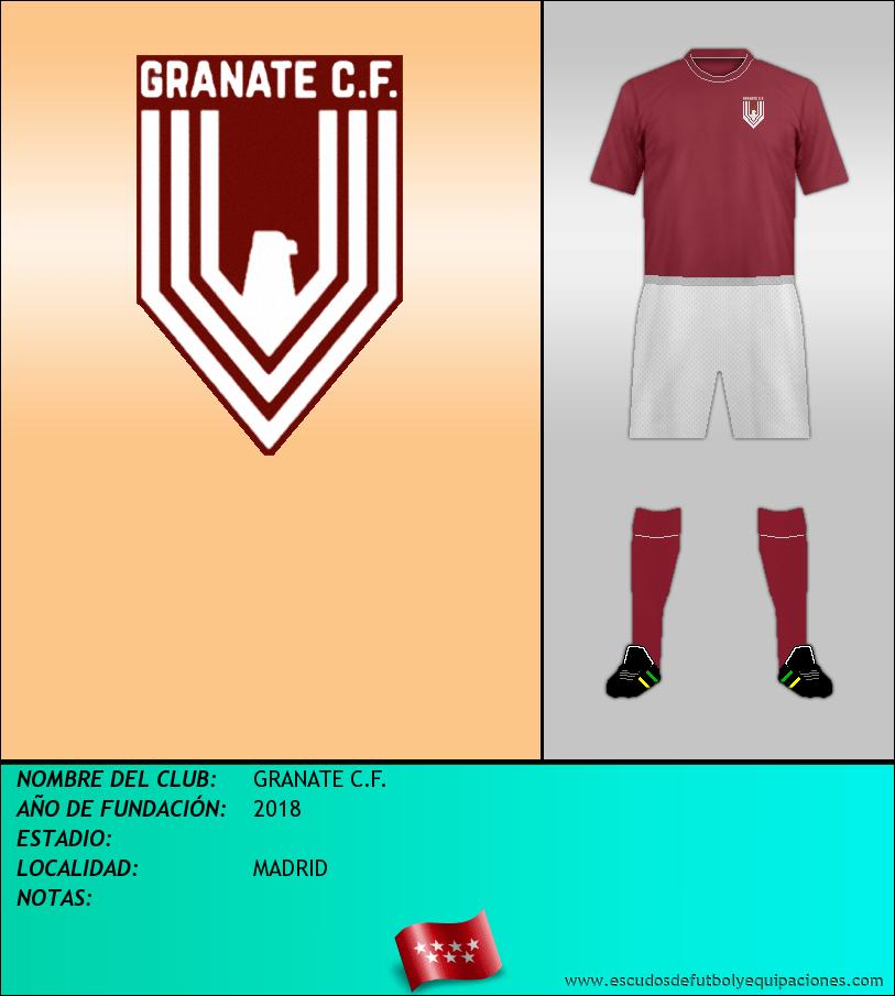 Escudo de GRANATE C.F.