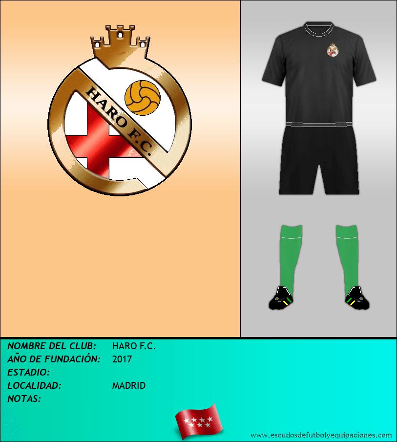 Escudo de HARO F.C.