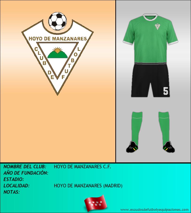 Escudo de HOYO DE MANZANARES C.F.