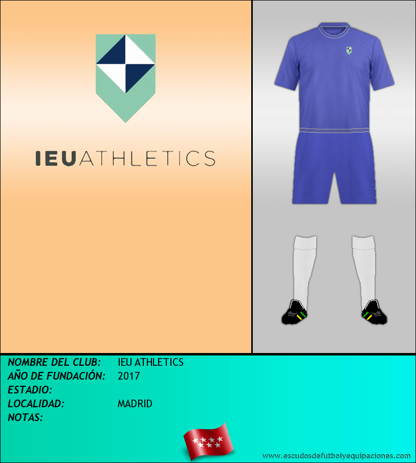 Escudo de IEU ATHLETICS