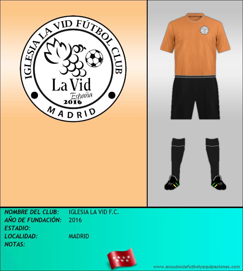 Escudo de IGLESIA LA VID F.C.