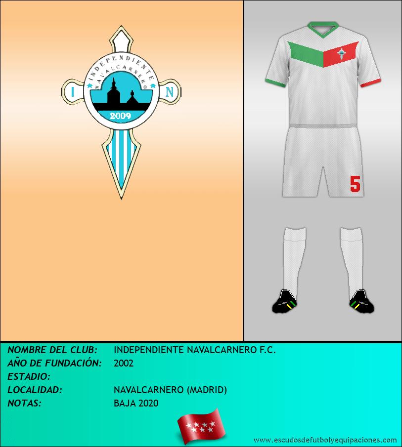 Escudo de INDEPENDIENTE NAVALCARNERO F.C.