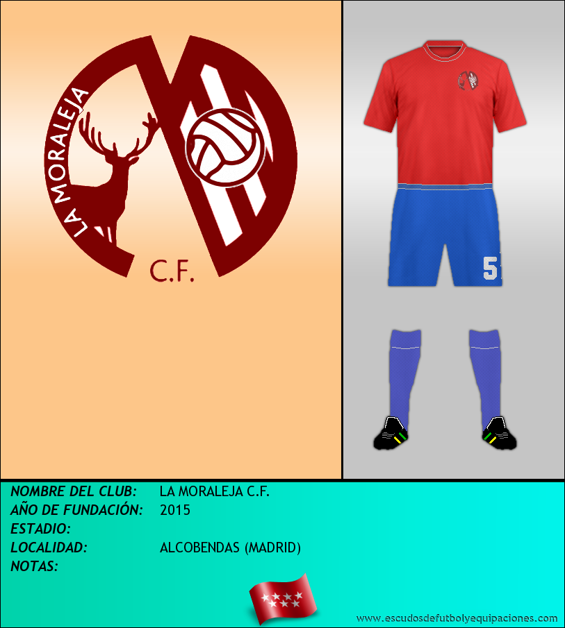 Escudo de LA MORALEJA C.F.