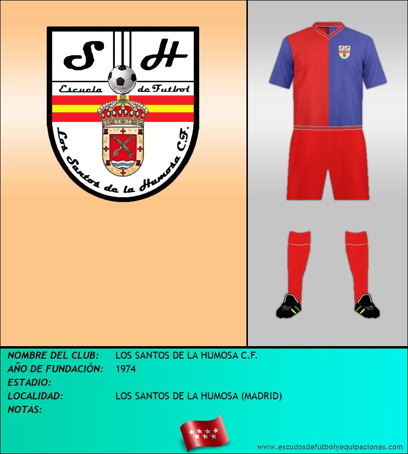 Escudo de LOS SANTOS DE LA HUMOSA C.F.