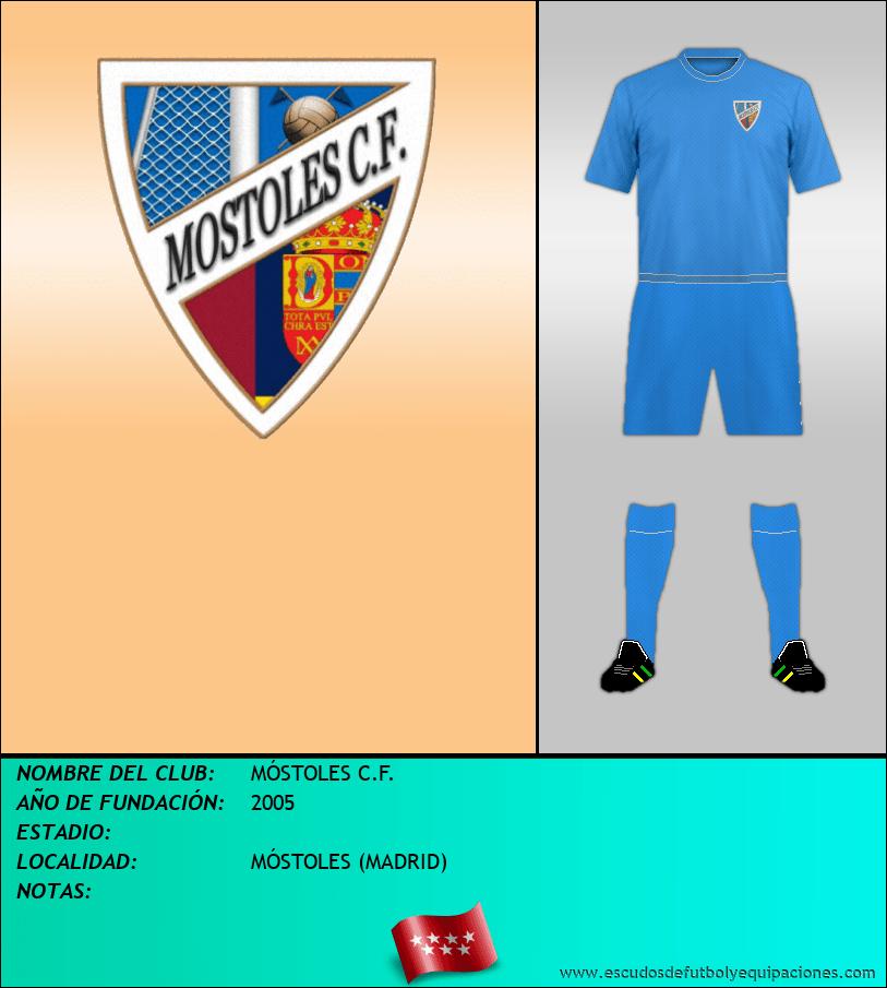 Escudo de MÓSTOLES C.F.