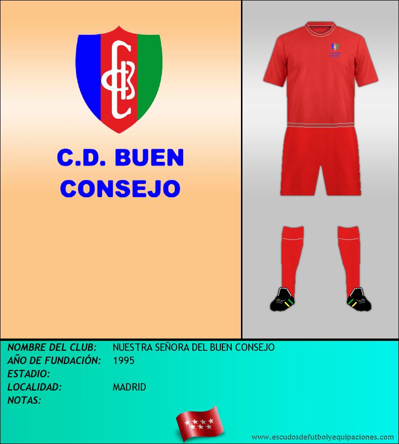Escudo de NUESTRA SEÑORA DEL BUEN CONSEJO