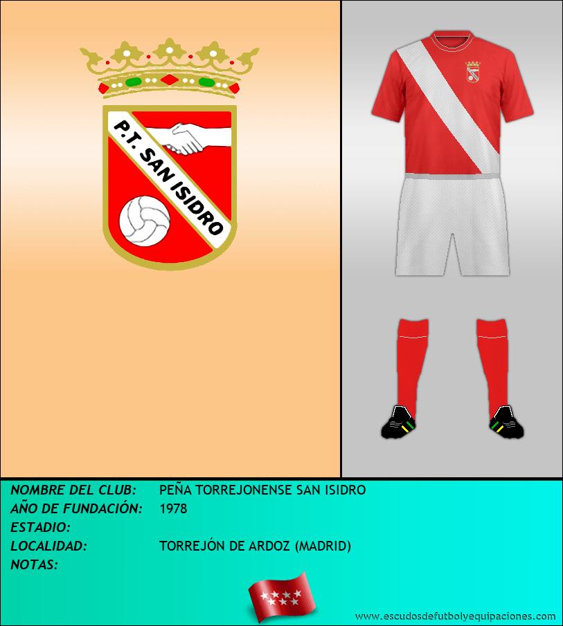 Escudo de PEÑA TORREJONENSE SAN ISIDRO