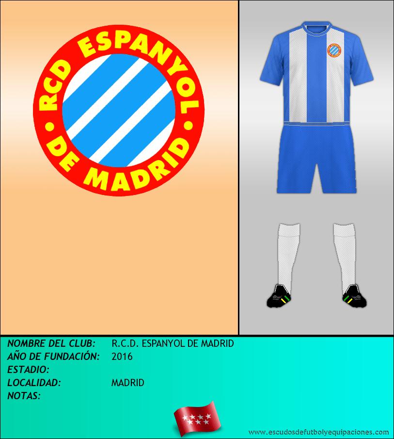 Escudo de R.C.D. ESPANYOL DE MADRID