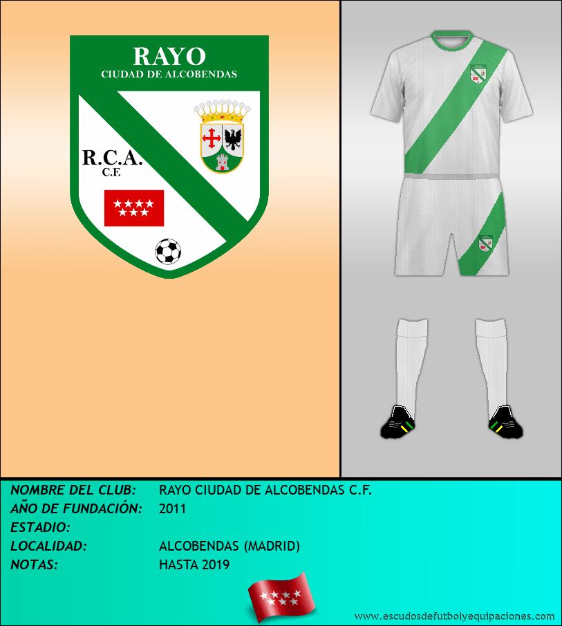 Escudo de RAYO CIUDAD DE ALCOBENDAS C.F.