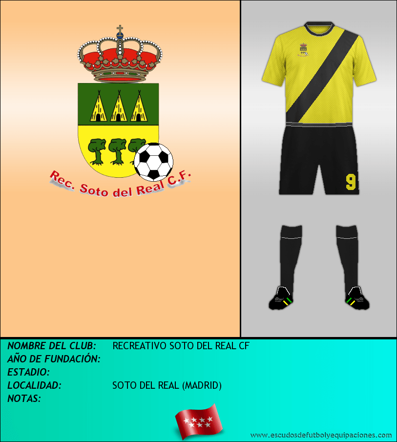 Escudo de RECREATIVO SOTO DEL REAL CF