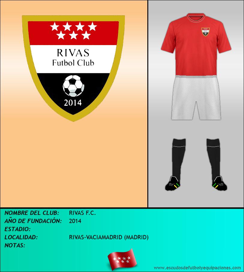 Escudo de RIVAS F.C.