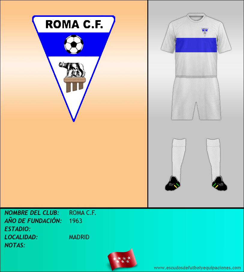Escudo de ROMA C.F.