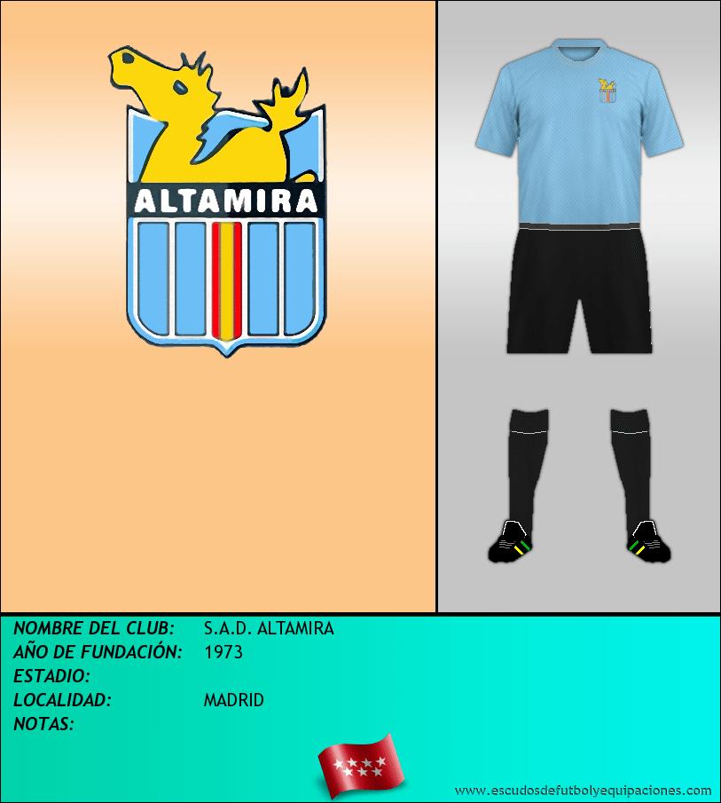Escudo de S.A.D. ALTAMIRA
