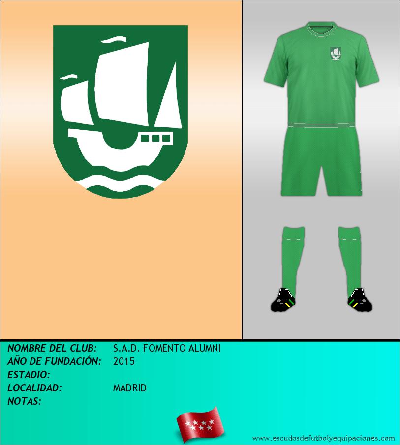 Escudo de S.A.D. FOMENTO ALUMNI
