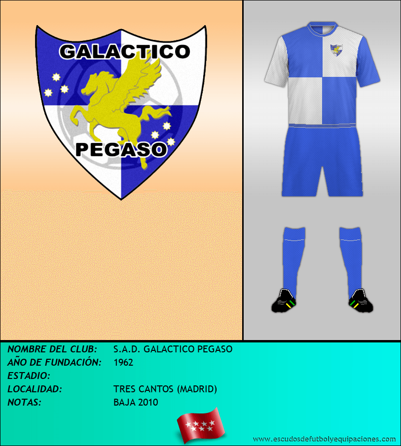 Escudo de S.A.D. GALACTICO PEGASO