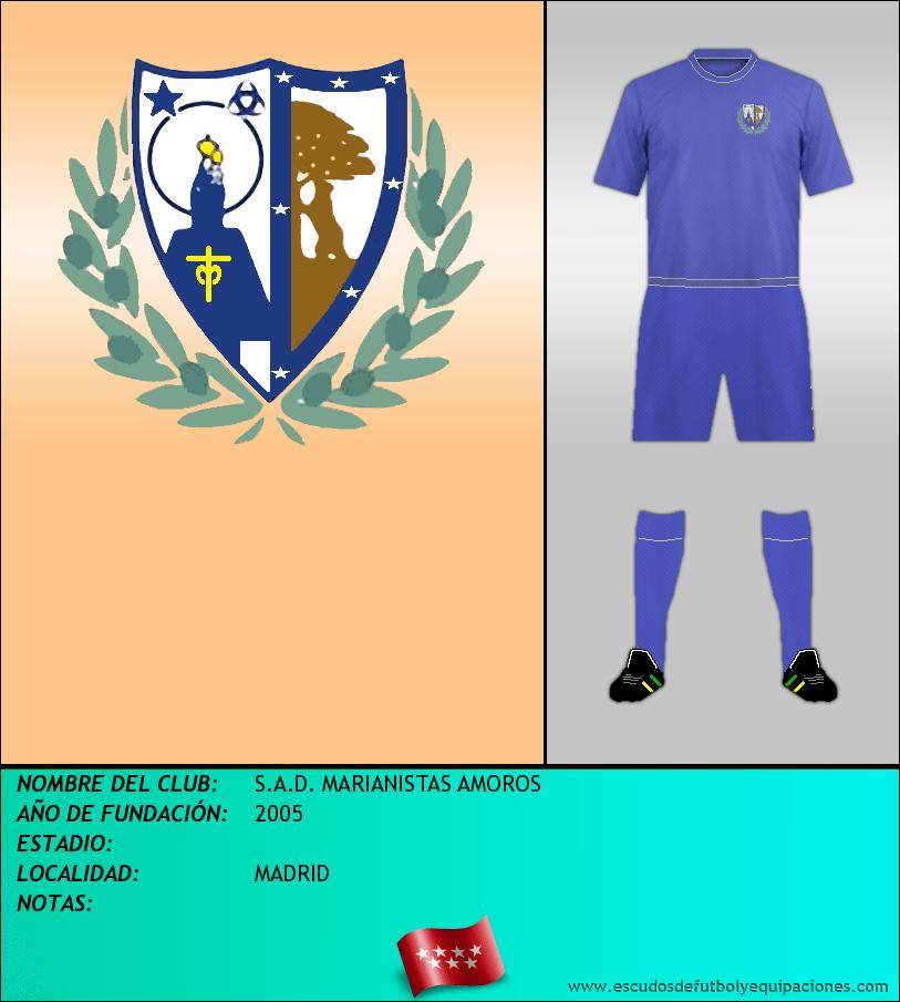 Escudo de S.A.D. MARIANISTAS AMOROS
