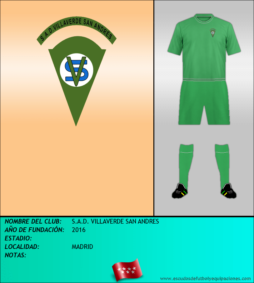 Escudo de S.A.D. VILLAVERDE SAN ANDRES
