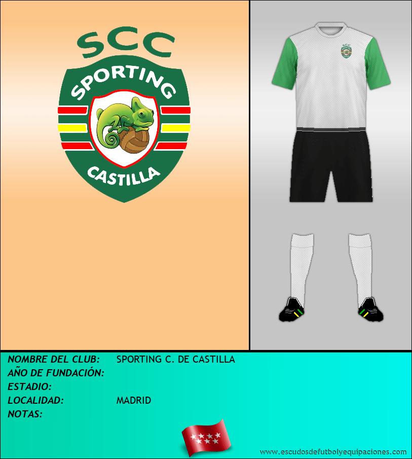 Escudo de SPORTING C. DE CASTILLA