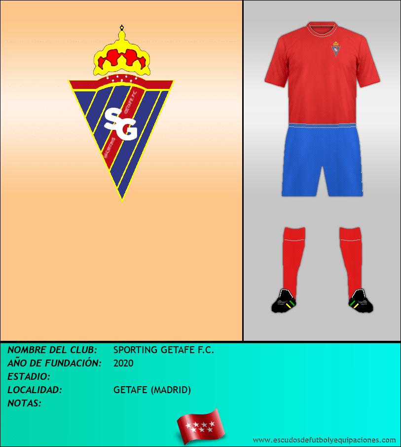 Escudo de SPORTING GETAFE F.C.