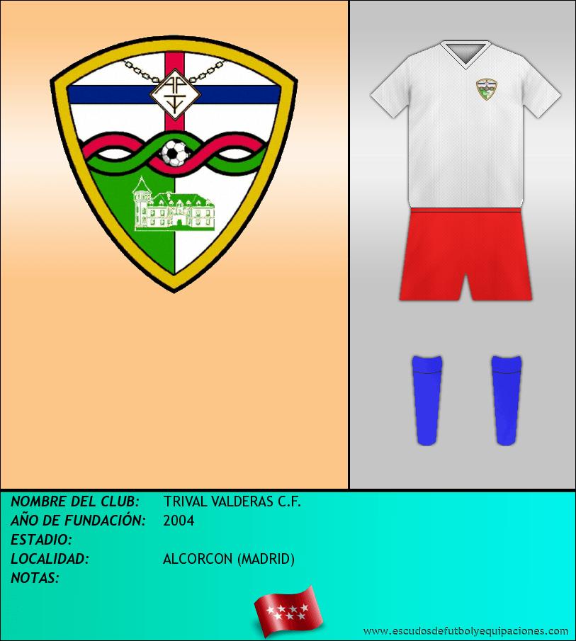 Escudo de TRIVAL VALDERAS C.F.