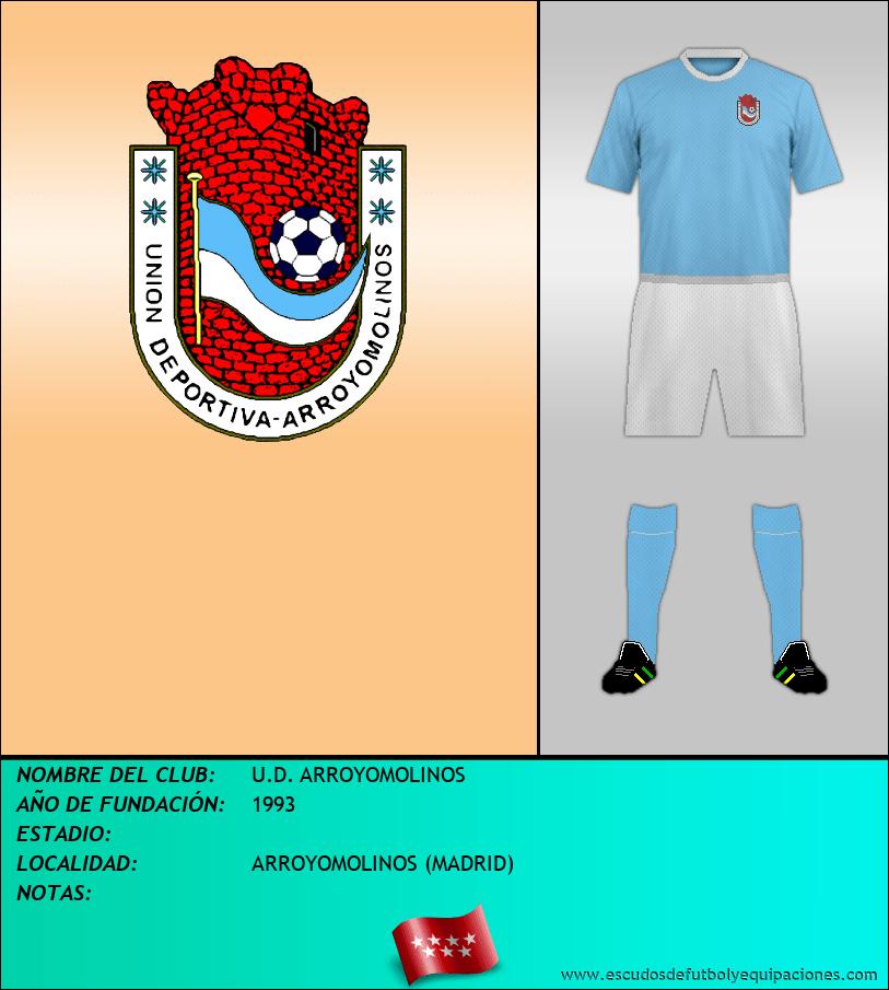 Escudo de U.D. ARROYOMOLINOS