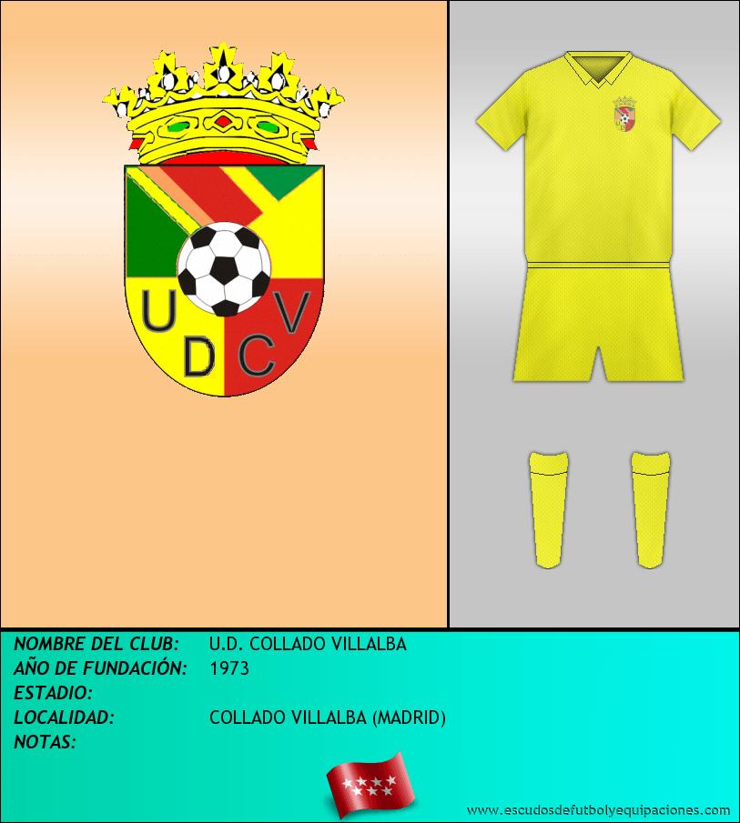 Escudo de U.D. COLLADO VILLALBA