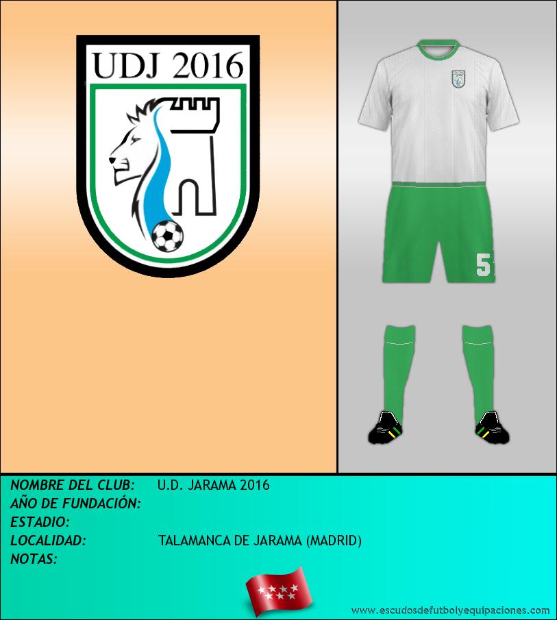 Escudo de U.D. JARAMA 2016