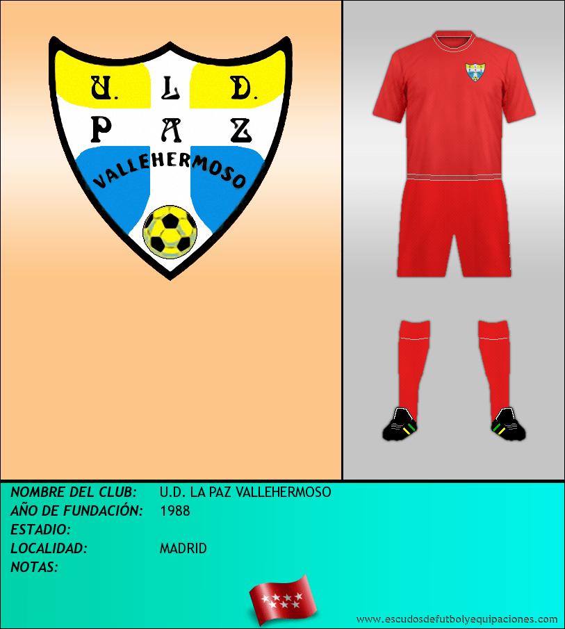 Escudo de U.D. LA PAZ VALLEHERMOSO
