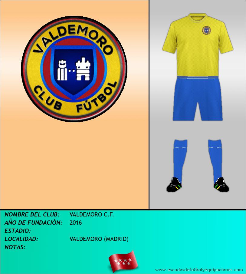 Escudo de VALDEMORO C.F.