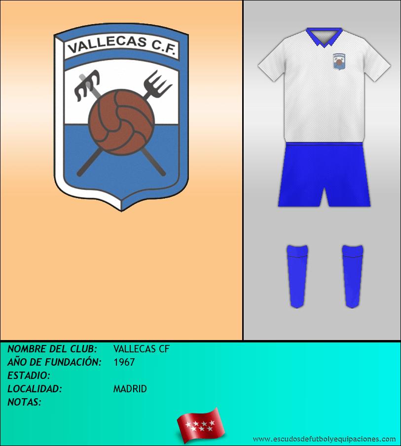Escudo de VALLECAS CF