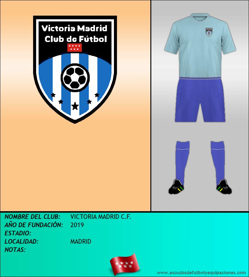 Escudo de VICTORIA MADRID C.F.