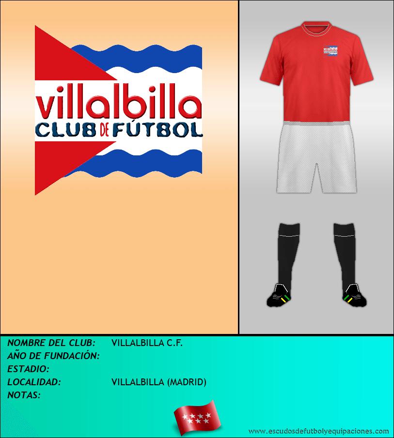Escudo de VILLALBILLA C.F.