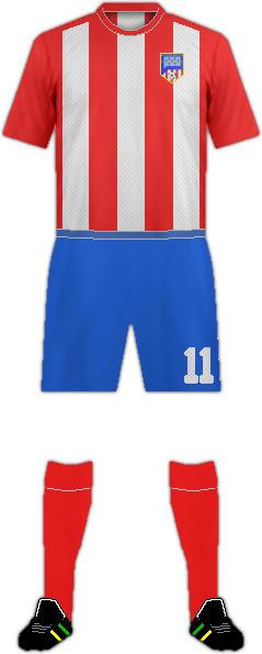 Equipación ALCANTARILLA F.C.