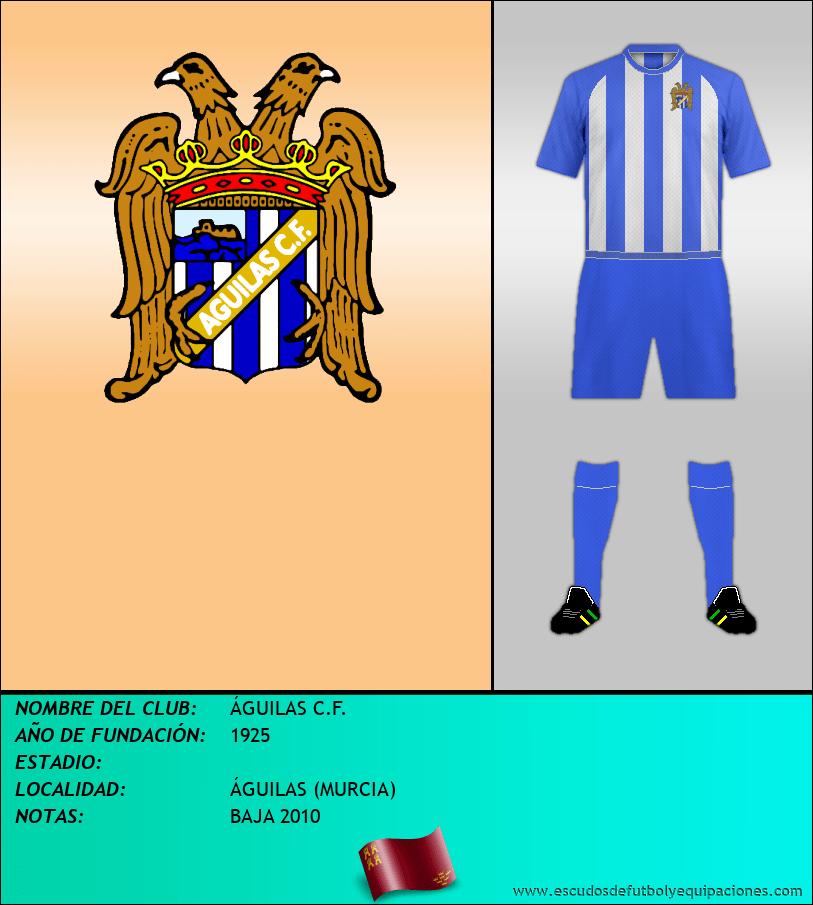 Escudo de ÁGUILAS C.F.