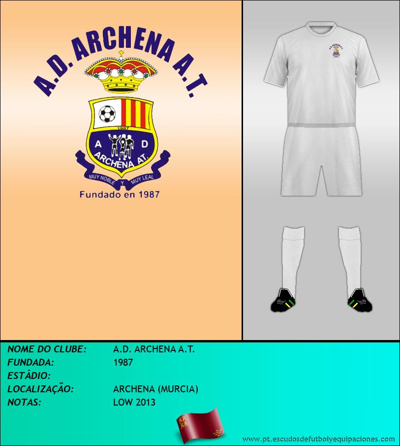 Escudo de A.D. ARCHENA A.T.